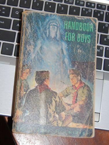 Boy Scouts of America HANDBOOK FOR BOYS = June 1954