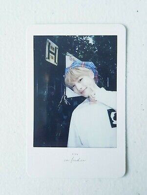 """Stray Kids I.N Official Limited Polaroid - Official Photobook """" Stay in London """""""