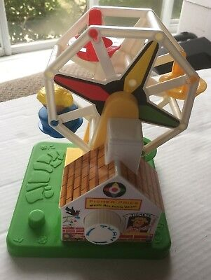Fisher Price Classic Vintage Style Music Box Ferris Wheel- Works
