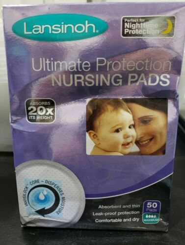 Lansinoh Ultimate Protection Nursing Pads 50 pads