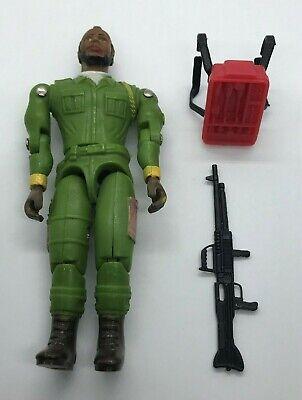 Vintage Galoob A-Team BA Baracus Mr T Figure 100% Complete W/ Gun & Backpack A
