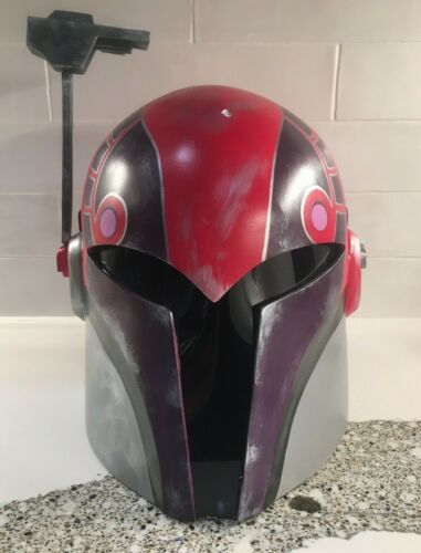 Sabine Wren Mandalorian Helmet from Star Wars Rebels Series Season 1