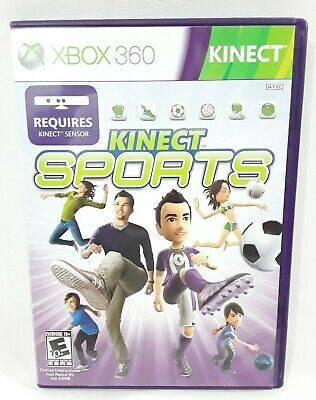 Kinect Sports (Xbox 360, 2010) NEW Open Box ~ Complete Original FREE SHIPPING  for sale  Shipping to Nigeria