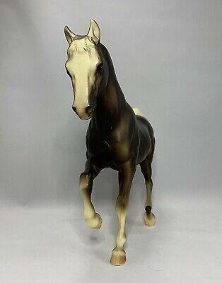 Vtg Breyer Matte Black Charcoal FAS Family Arabian Stallion Horse