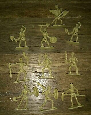 Small Plastic Skeletons (10 Small Plastic  Skeleton)