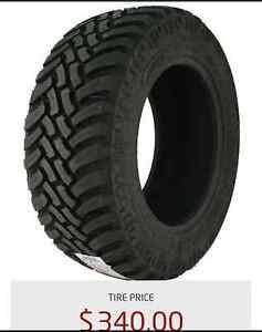 Durun Terrain Grabber Tire M/T LT35x12.50R20
