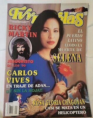 *SCARCE* Selena Quintanilla,TVyNovelas, TV y Novelas Magazine, May1995