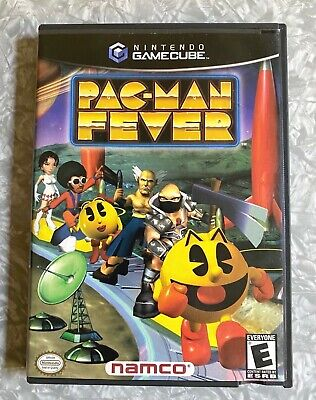 Pac-Man Fever Nintendo Gamecube Complete in Case w/ Manual Black Label FREE SHIP