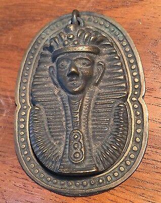 Egyptian Sphinx Door Handle Pull Vintage Patina