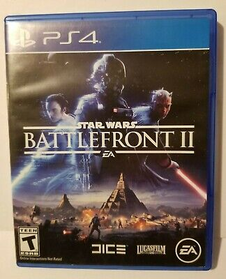 Star Wars: Battlefront II 2 (Sony Playstation 4 PS4, 2017) PS4