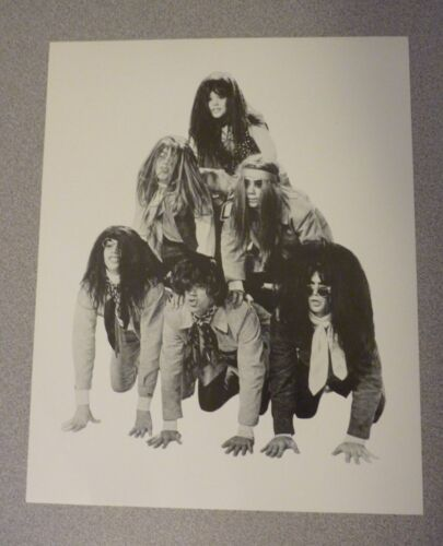 Cowsills Band Music 8x9.5 B&W Promo Photo from LP