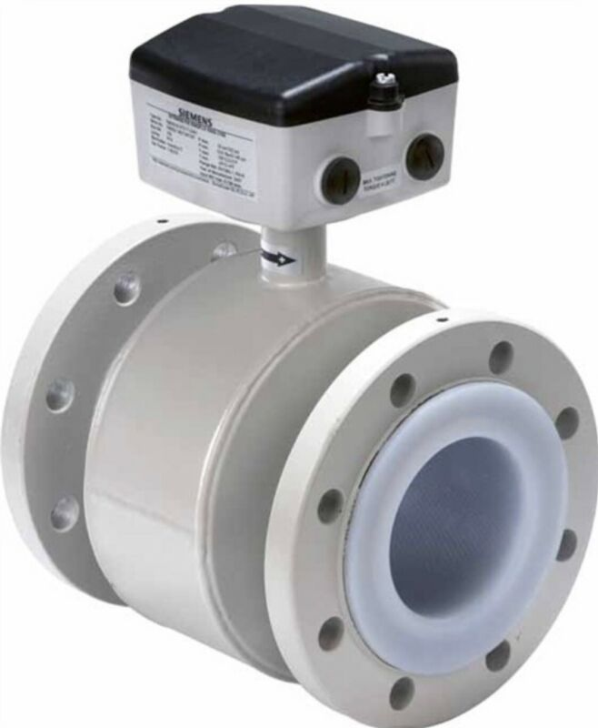 Siemens Sitrans F M MAG 3100 P 7ME6340-4PJ13-2AA2 Electromagnetic Flow Sensor