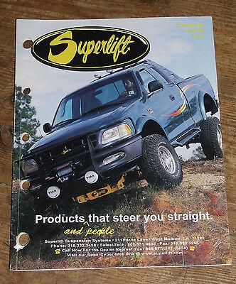 Superlift Suspensions USA  Product Catalog #110 circa 1998