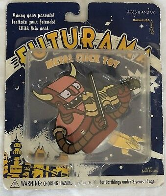 Futurama Robot Devil Metal Click Toy Figure FOX