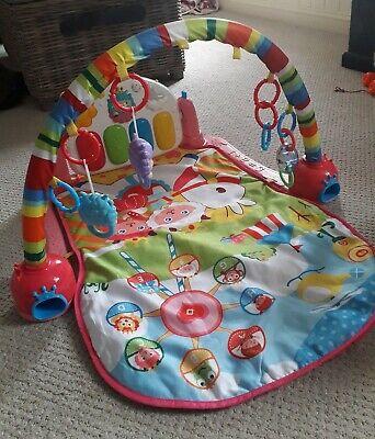 Kick and Play Piano Gym Pink Baby Play Mat, usado segunda mano  Embacar hacia Mexico