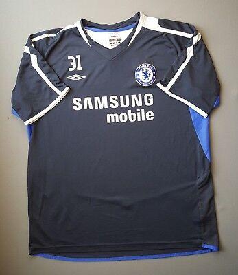 4.5 5 Chelsea training jersey shirt size XL football soccer Umbro 5e7f30fb4e33e