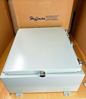 Hoffman A24h20blp Steel Wall-mount Nema 4 Enclosure 24 X 20 X 8 Gray