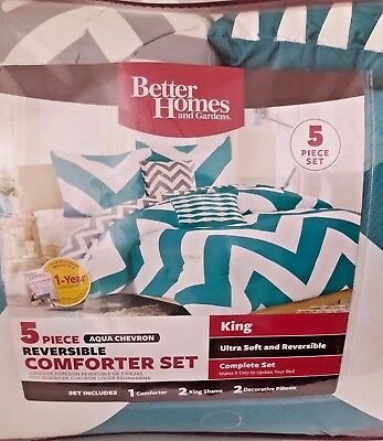 Better Homes And Garden 5 pcs King Size Reversible