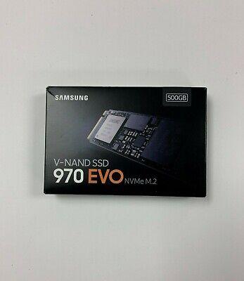 Samsung 970 EVO 500GB NVMe PCIe M.2 2280 SSD MZ-V7E500BW #561W