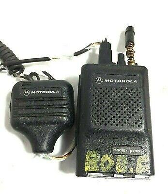Motorola Radius P200 Radio Head Top With Microphone Nmn6156b