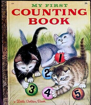 MY FIRST COUNTING BOOK ~ Vintage 1950