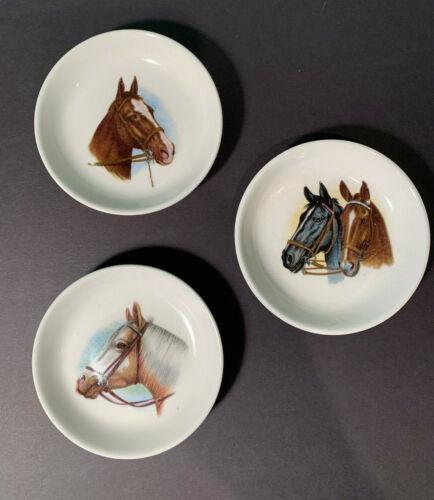 3 Horse Butter Pats