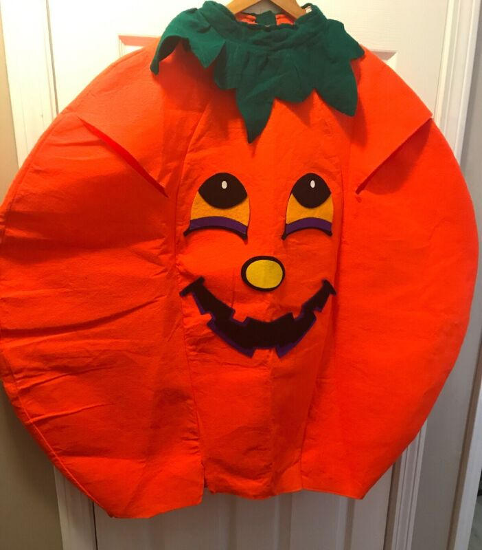 Womens Mens PUMPKIN Halloween Costume One Size Fits Most