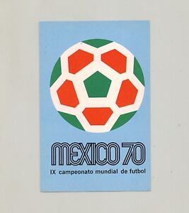 MEXICO 70 SOCCER WORLD CUP POSTCARD