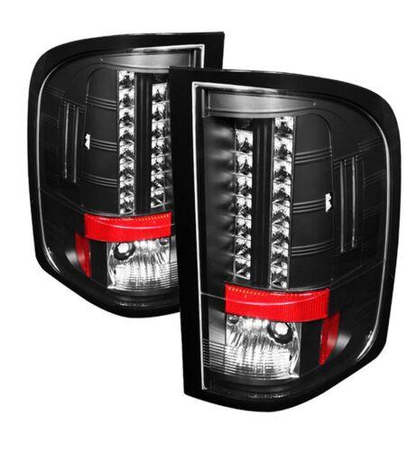 SPYDER ALT YD CS2010 LED BK Pair Black LED Tail Lights for 09-10 Silverado 1500