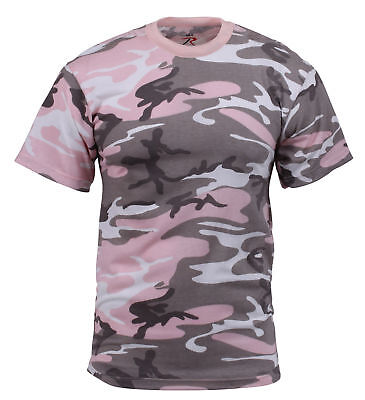 Pink Camouflage T-shirt ( Women's Subdued Pink Camouflage T-Shirt Rothco 8681 )