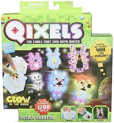 QIXELS Glow-in-The Dark Design Creator (Qixels Glow In The Dark Design Creator)