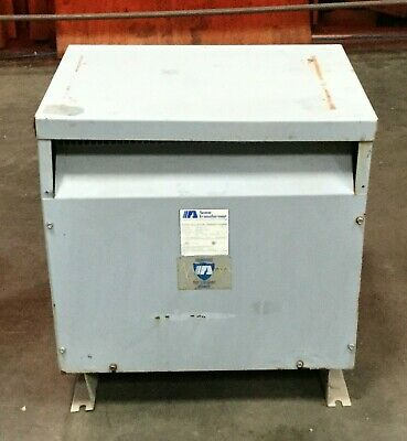 Acme 27 Kva Drive Isolation Transformer Dtgb-027-4s Pri. 460 Delta Sec. 460y