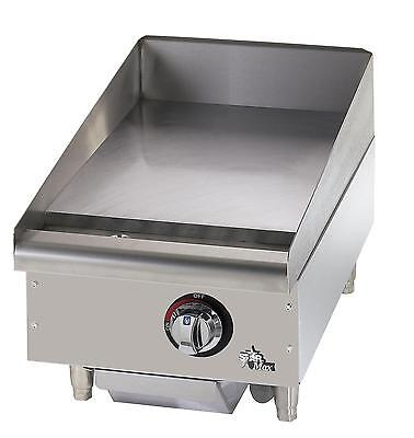 Star 615mf Star-max Countertop 15in Manual Gas Griddle