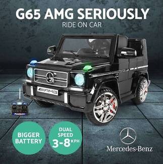 Kids Electric Ride on Car Licensed Mercedes-Benz AMG G65