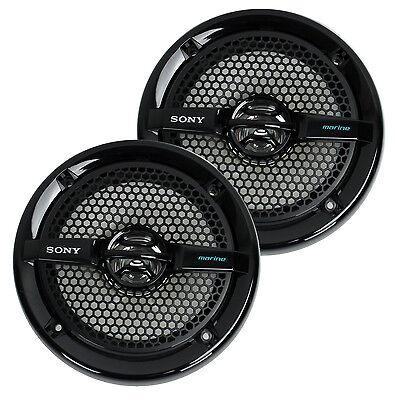 "2) Sony Xs-mp1611b 6.5"" 140w Dual Cone Atv/utv Speakers S..."