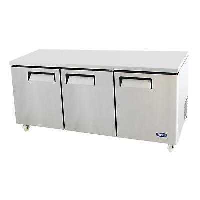 Atosa Mgf8404gr 72 Triple Door Undercounter Reach-in Refrigerator