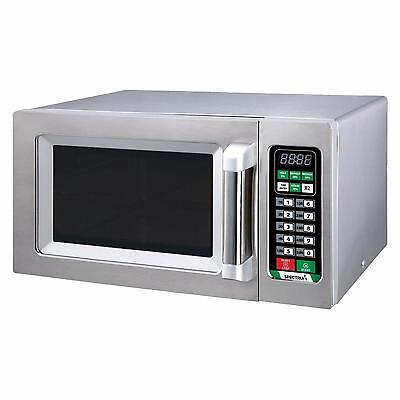 Winco Emw-1000st Spectrum Commercial 1000w Microwave W Touch Screen
