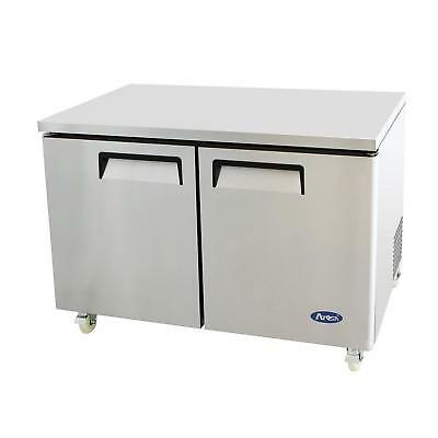 Atosa Mgf8406 48 Double Door Undercounter Reach-in Freezer