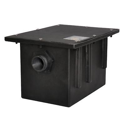 BK Resources PGT-20 20 lb Plastic Grease Trap Interceptor 10 Gallons Per (20 Lb Grease Trap)