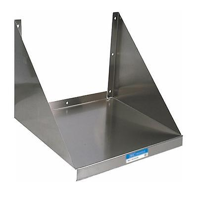 Bk Resources Bkmws-2030 30x20 Stainless Steel Wall Mount Microwave Shelf