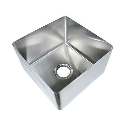 Bk Resources 24 X 24 X 14 One Compartment Stainless Steel Weld-in Sink