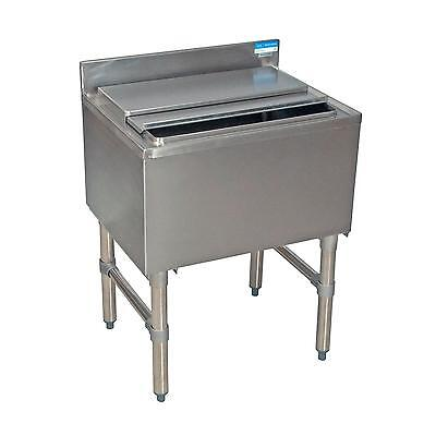 Bk Resources Bkib-2412-18s 24w Stainless Steel Underbar Insulated Ice Bin
