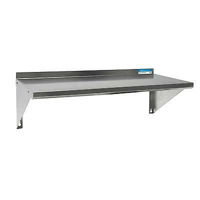 Bk Resources Bkwse-1248 48wx12d Stainless Steel Wall Mount Economy Shelf