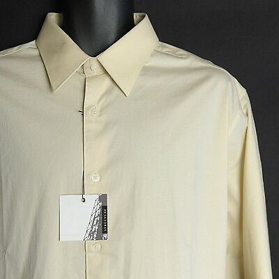 NEW Men's STRUCTURE Shirt Size XL Long Sleeve Button Front Cotton Stretch