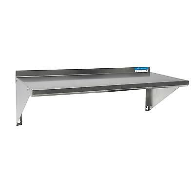 Bk Resources Bkwse-1684 84wx16d Stainless Steel Wall Mount Economy Shelf