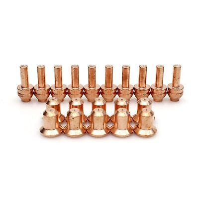 Plasma Torch 176656 Tips 176655 Electrodes For Miller 25c27c 375xtreme 20pcs