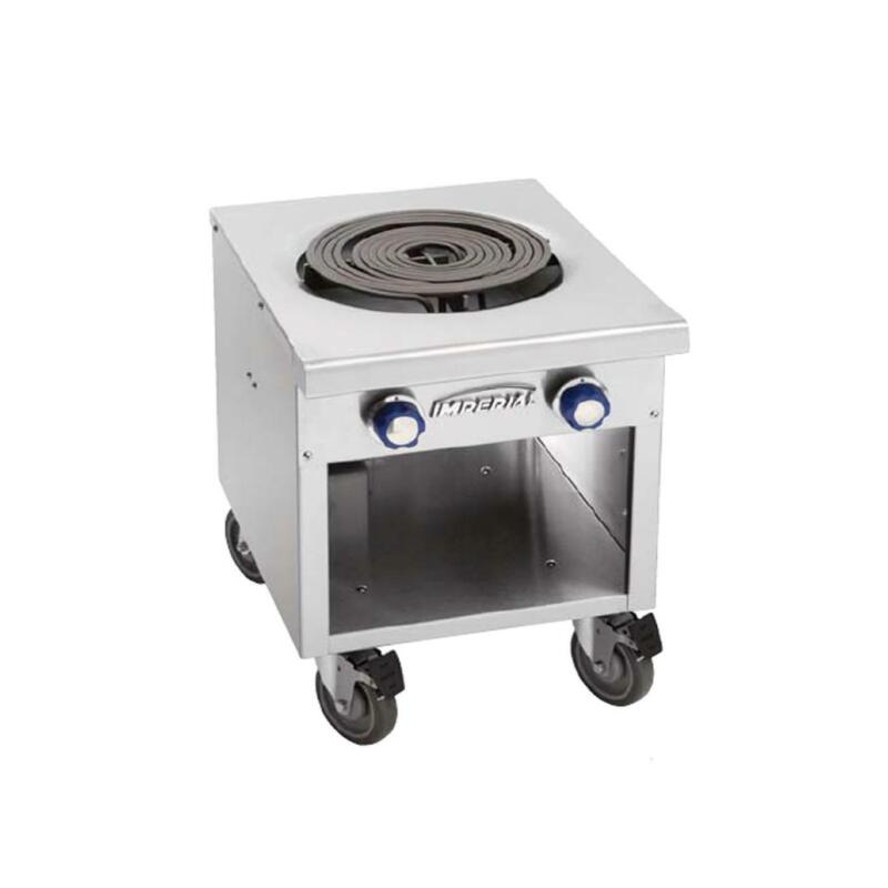 "Imperial Range Ispa-18-e 18"" Commercial Single Burner Electric Stock Pot Range"