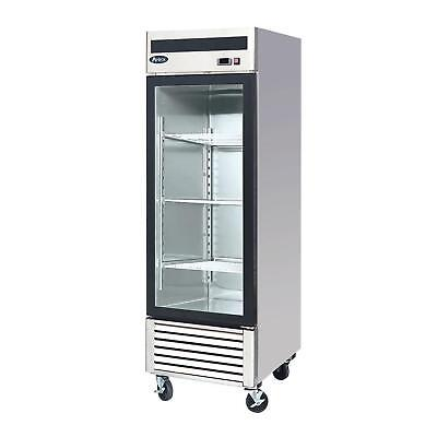 Atosa Mcf8705 22 Cu Ft Single Section Refrigerated Merchandiser