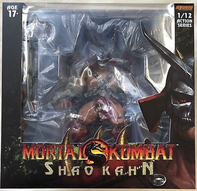 Storm Collectibles Shao Kahn Mortal Kombat 1/12 Scale Action Figure NEW IN STOCK