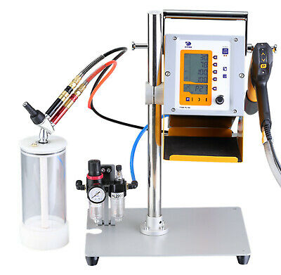 Hq Digital Display Spray Powder Coating Machine Gun Cup Without Rackhopper